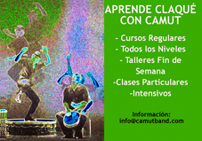 Clases Claquettes Barcelona. Camut Band